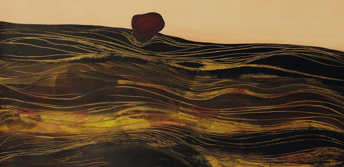 Mariya Boyanova Malerei II Landschaft Anthike 50x60