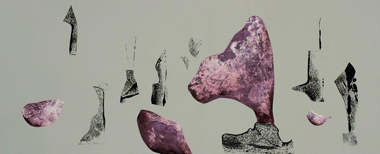 Mariya Boyanova Malerei collage acryl paper 27.5x69 (1)