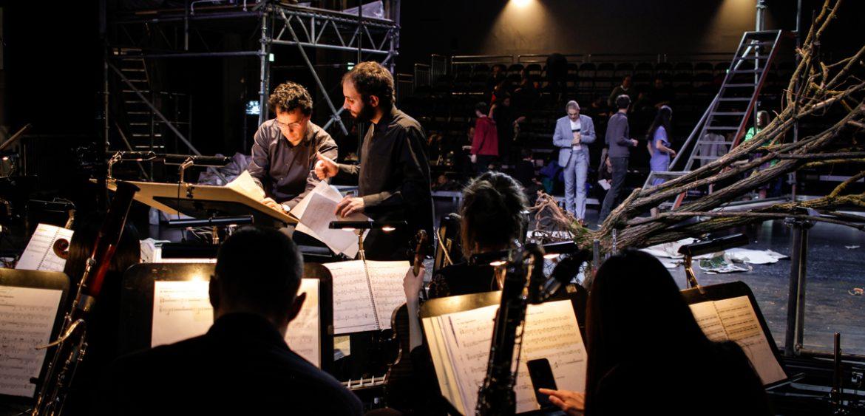 Mariya Boyanova Set Fotografie Neue Szenen III making of Deutsche Oper